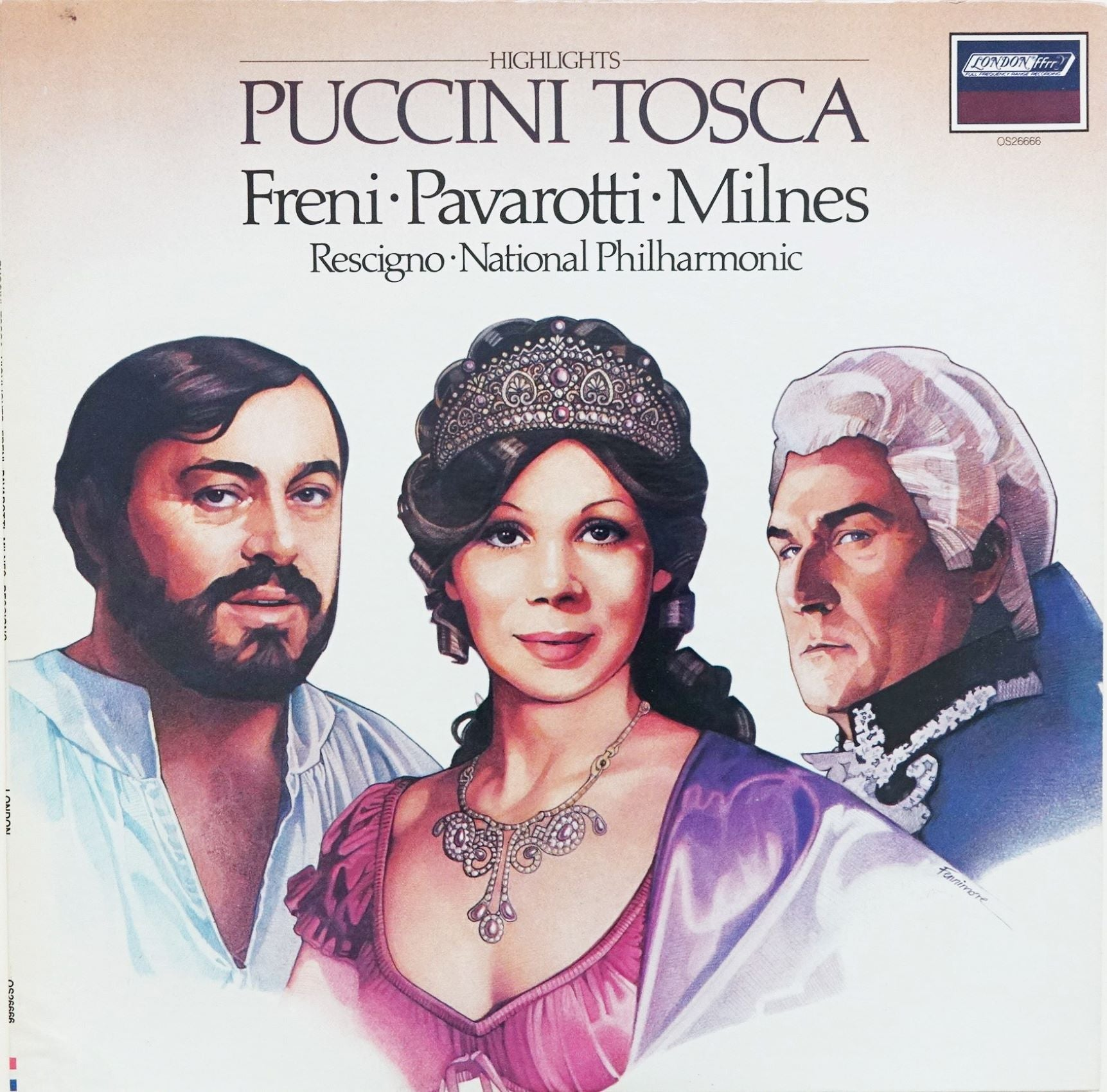LON001: Highlights from Puccini's Tosca