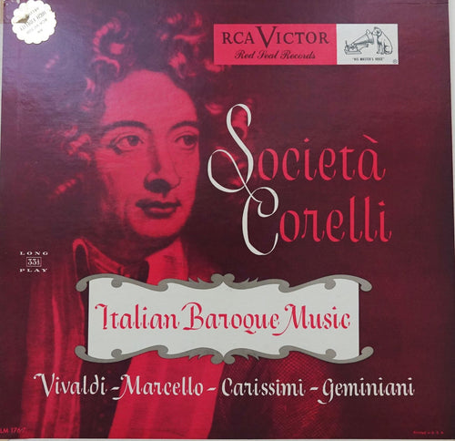 RCA001: Italian Baroque Music