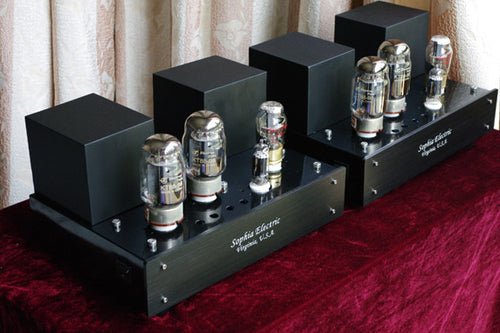 Sophia Electric KT88 Push-Pull Mono-block Tube Amplifiers