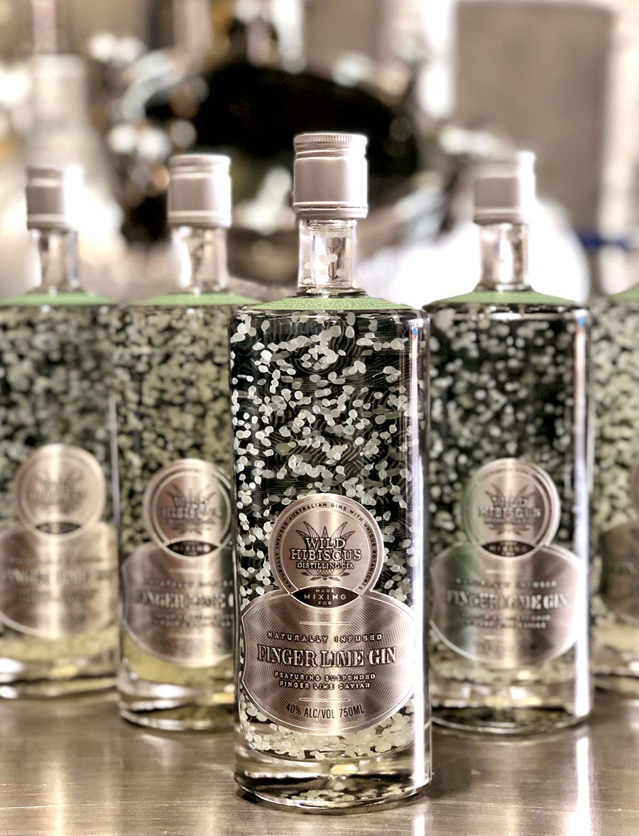 Finger Lime Gin 750ml