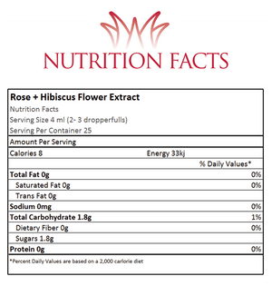 Flower Extract - Rose+Hibiscus