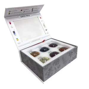 Gin Baubles - 6 SETS Gingle Bells Floral Gin Baubles Corporate