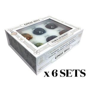 Gin Baubles - 6 SETS Gingle Bells Floral Gin Baubles (Buy 5 Get 1 Free)