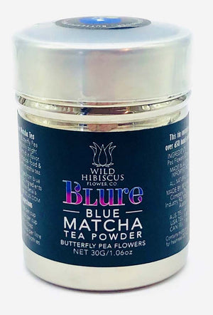 Blue Matcha Tea Powder