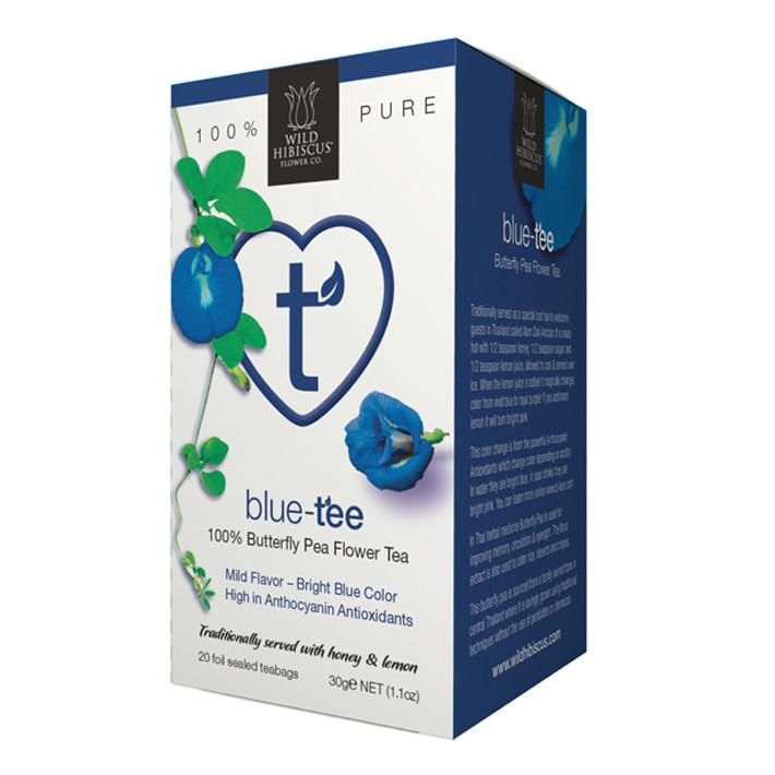 Heart-Tee Blue Tea