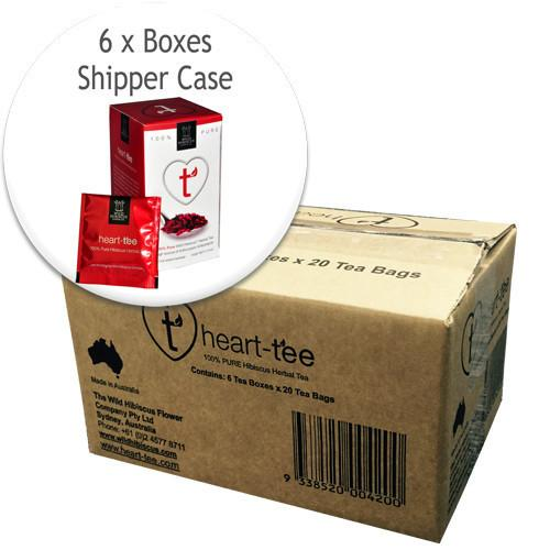 6 UNIT PACK - Heart-Tee Hibiscus Flower Tea