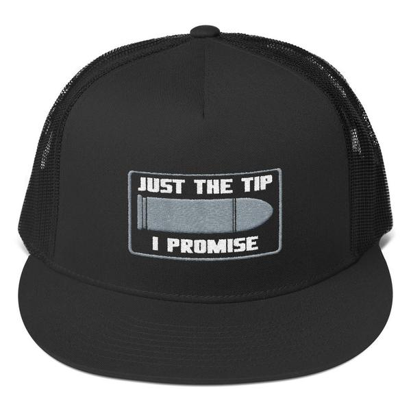 "JUST THE TIP"" MESH BACK TRUCKER HAT"