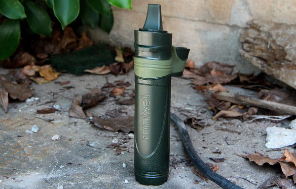Outdoor survival Camping equipment military mini water filter portable outdoor water straw filter
