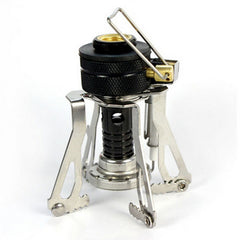 Mini Camping Stove Folding Outdoor Gas Stove Portable Furnace