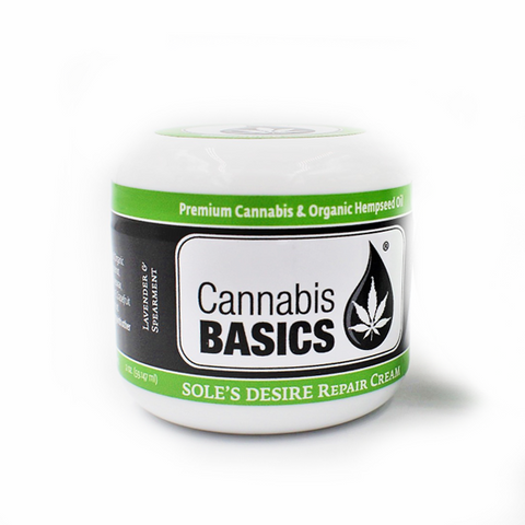 Cannabis Basics Soles Desire Repair Cream: Lavender and Spearmint