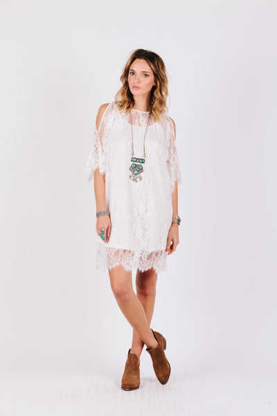 Daria White Summer Tunic
