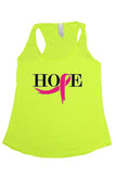 Hope Yellow Tank Top