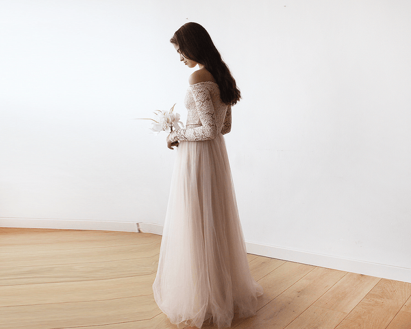 Kimberley Blush III Tulle Dress