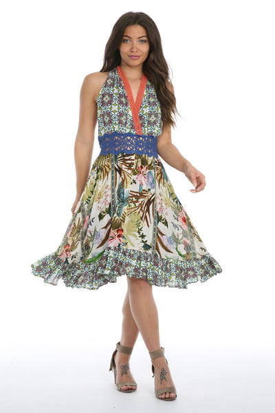 Lyla Multicolor Tuscany Dress