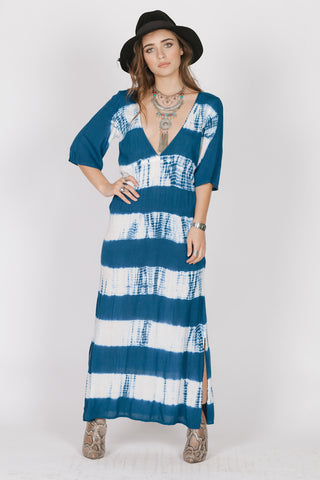 Celia Navy Maxi Dress