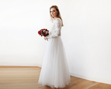 Kimberley Ivory IV Tulle Dress