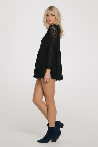 Katia Black Lace Dress