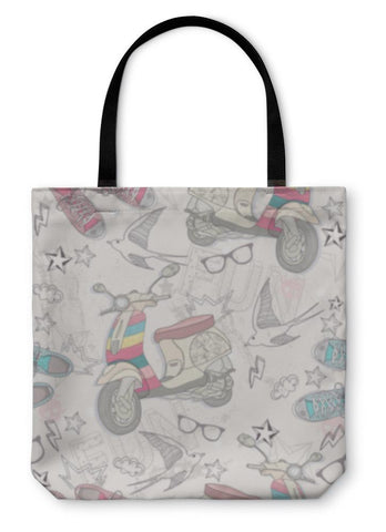 Cute Drawing Tote Bag