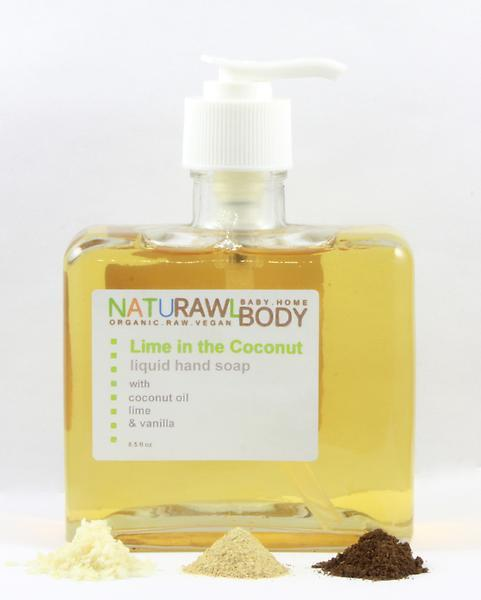 Lime & Coconut Liquid Hand Wash
