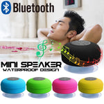 Mini Portable Waterproof Wireless Bluetooth Speaker (Colors)