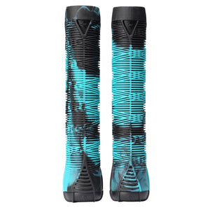 Blunt Envy V2 Scooter Grips - Black/Teal