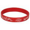 Bestial Wolf wristband - Red