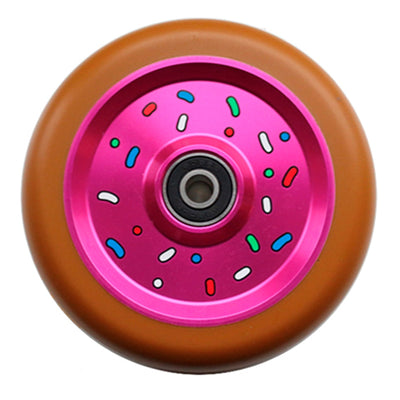 JUICY WHEEL CO. DONUT WHEEL 110MM, GUM/PINK
