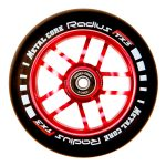 Metal Core RADIUS 110mm Wheel - Black/Red