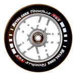 Metal Core RADIUS 120mm Wheel - Black/Chrome