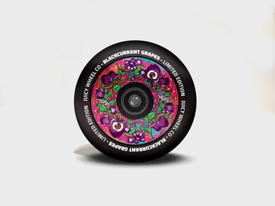 JuicyWheelCo BlackCurrant Grape 110mm Wheel