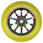 Metal Core Thunder 110mm Wheel - Yellow/Neo