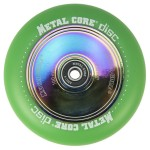 Metal Core Disc 110mm Wheel - Green/Neo