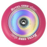 Metal Core Disc 110mm Wheel - Pink/Neo