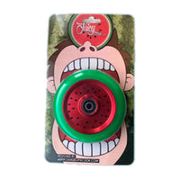 JUICY WHEEL CO. WATERMELON WHEEL 110MM, GREEN/RED