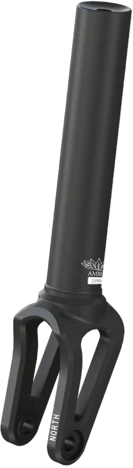 North Amber Pro Scooter Fork Matte Black