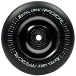 Metal Core Radical 110mm Wheel - Black/Black