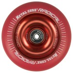 Metal Core Radical 110mm Wheel - Red/Red