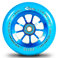River Sapphire Glide 110mm Pro Scooter Wheels 2 Pack