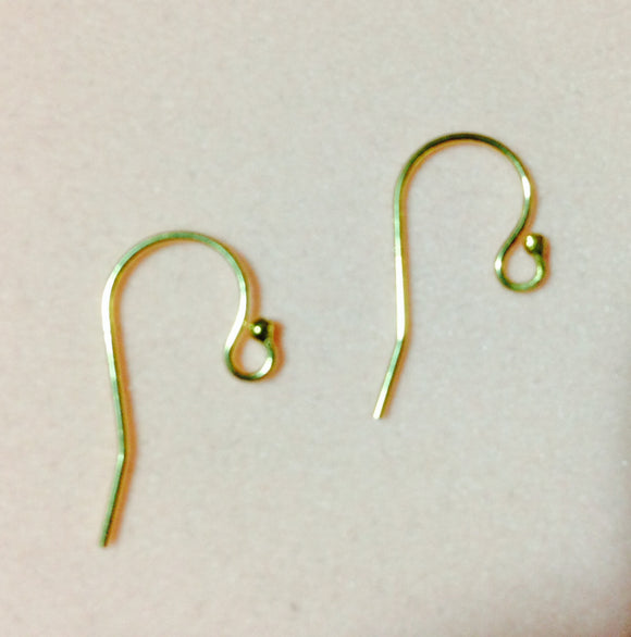 14K Gold-Filled Earwires  (for interchangeable earring system)