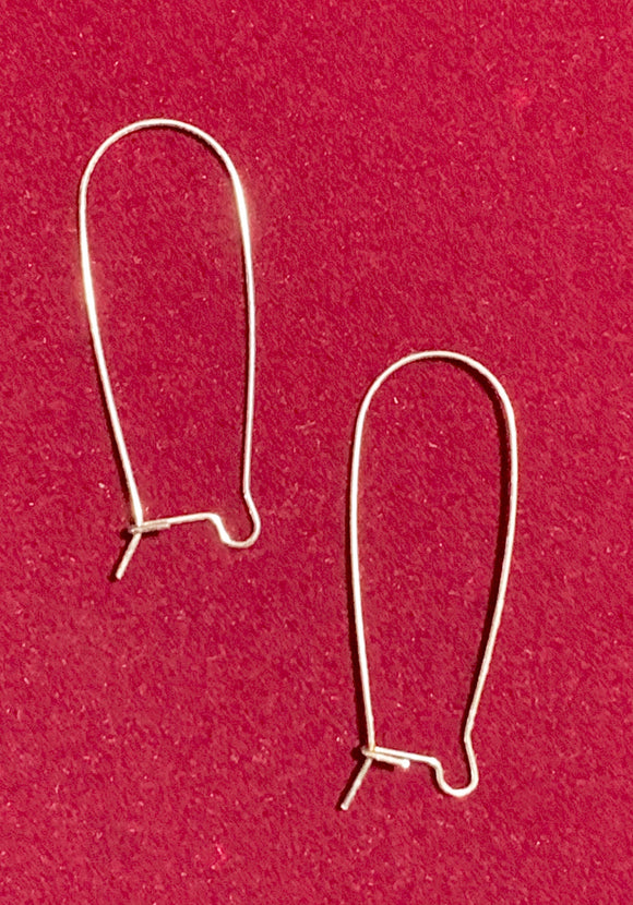 Sterling Silver Earwires (for Interchangeable earring system) 14184