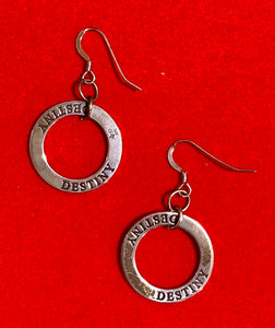 "Sterling Silver ""Destiny"" Earrings 17100"