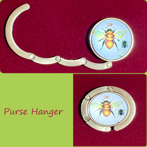 Purse Hanger (bee pic) 19009