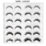 MINK Lashes – Luxury Collection (12 Types)