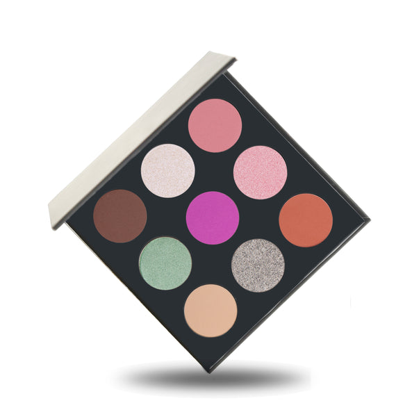 No Labelled 9 pans eyeshadow palette