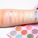 NEW! DueChrome Eyeshadow Sample Sets 16 colors