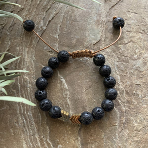 Kids Diffuser Bracelet - Brave - Peaceful Lotus - weighted blankets - acupressure - better sleep - sensory processing disorder - adhd - special needs - calm anxiety
