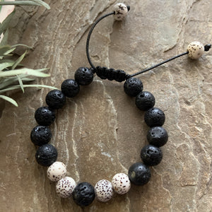 Kids Diffuser Bracelet - Spotty-Peaceful Lotus
