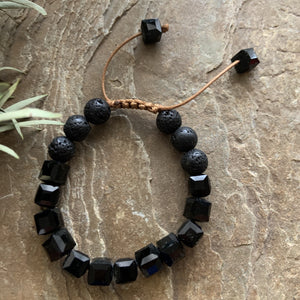 Kids Diffuser Bracelet - Midnight - Peaceful Lotus - weighted blankets - acupressure - better sleep - sensory processing disorder - adhd - special needs - calm anxiety