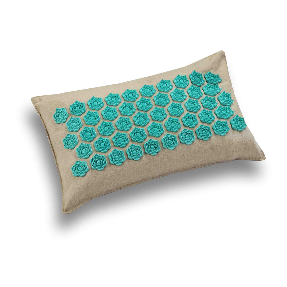 Lotus Acupressure Mat, Pillow and Bag - Peaceful Lotus - weighted blankets - acupressure - better sleep - sensory processing disorder - adhd - special needs - calm anxiety