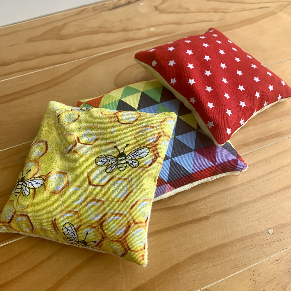 Sensory Beanies - Bright and Starry Collection - Peaceful Lotus - weighted blankets - acupressure - better sleep - sensory processing disorder - adhd - special needs - calm anxiety